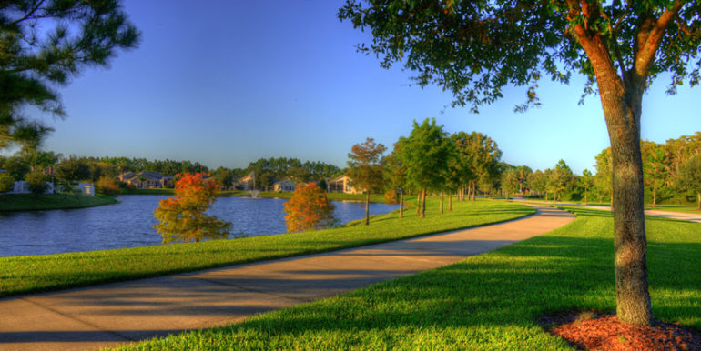 Water's Edge Community Lake